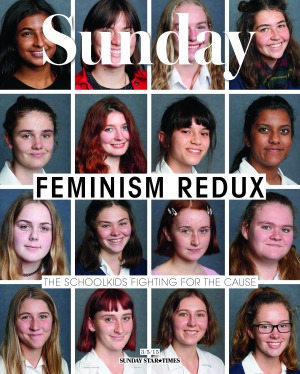Teen feminists
